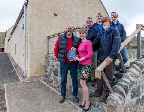 Aberdeenshire hostel sails to the stars
