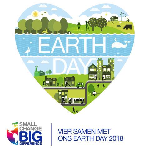 Earth Day 2018: kleine veranderingen maken een groot verschil