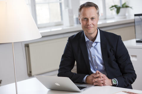 Fredrik Skarp, CEO FM Mattsson Mora Group