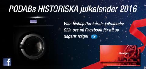   PODABs HISTORISKA julkalender!