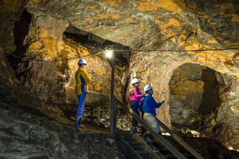 Zu Besuch in der 'St. Olavs Mine'