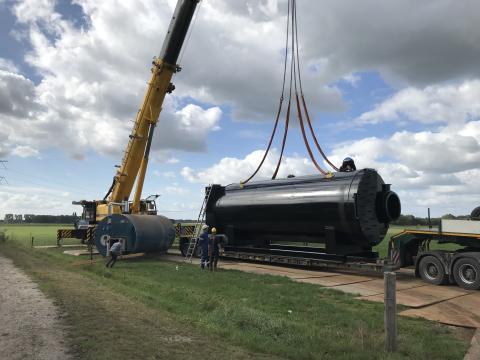 Bioenergi ersätter fossil naturgas i Holland med förnyelsebar brännarteknologi från PetroBio.