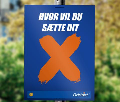 Danske Spil sætter odds på folketingsvalget