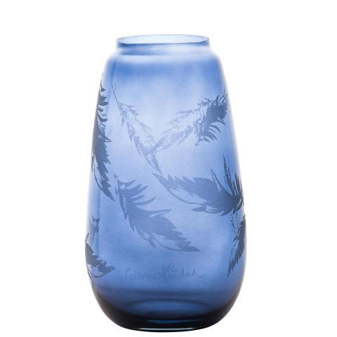 Produktbilde_blaa_260mm_Hadeland Glassverk Siccori Stille bevegelser Cathrine Knudsen