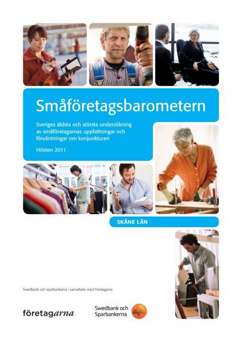 Småföretagsbarometern Skåne Län