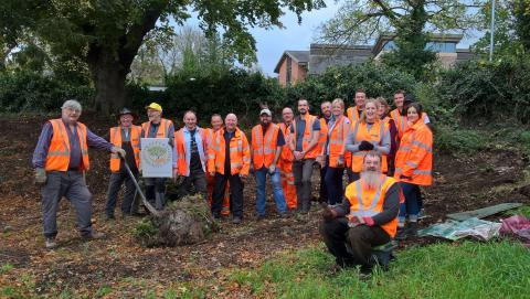 Malvern Link adopters get a helping hand for community garden project