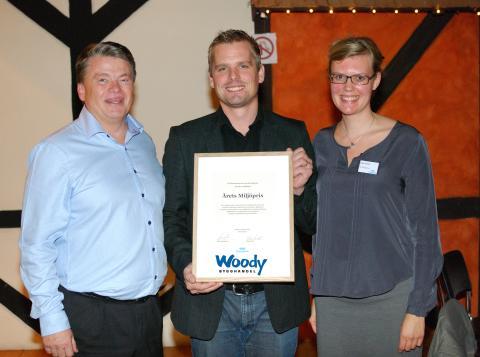 De får Woodys Miljöpris 2012
