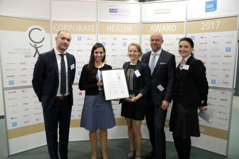 Corporate Health Award 2017