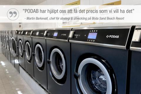 Sveriges största camping valde PODAB av flera anledningar