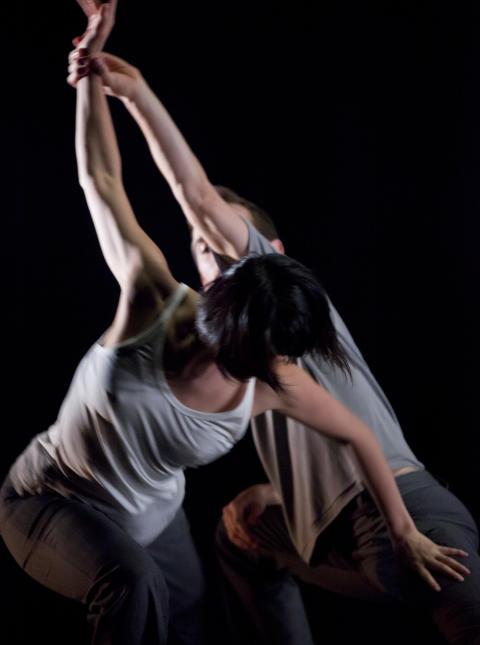 Dansföreställningen HAZE - verket On Invisible Pause