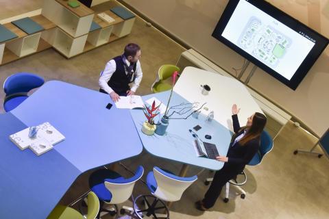Büromöbelumsätze legen zum dritten Mal in Folge zu