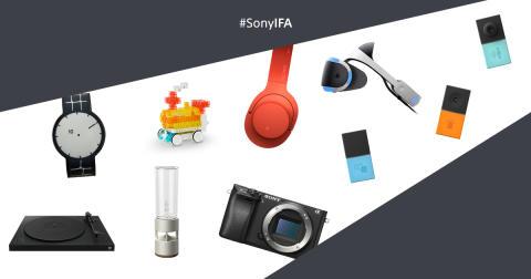 Пресс-конференция компании Sony на выставке IFA 2016