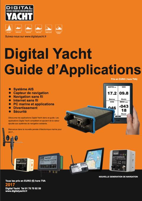Guide des applications Digital Yacht 2017