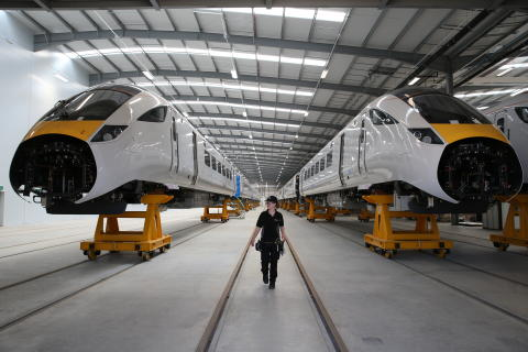 Global High Speed Rail Learning Programme - Bombardier Transportation and Hitachi Rail to work with the National College for High Speed Rail