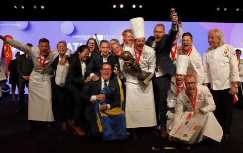 Svenska Kocklandslagets VM-vinnarmeny lanseras på Viking Cinderella