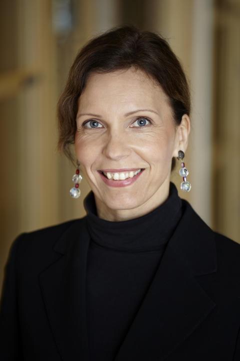 Anja Simonsson, V.P. Communications, Marine Division på Alfa Laval