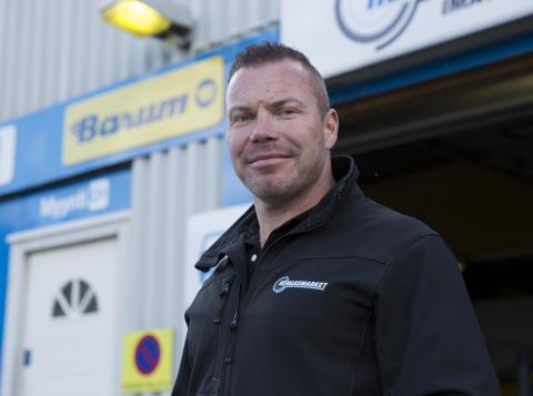 Rengasmarket-ketjupäällikkö Sami Laaksonen