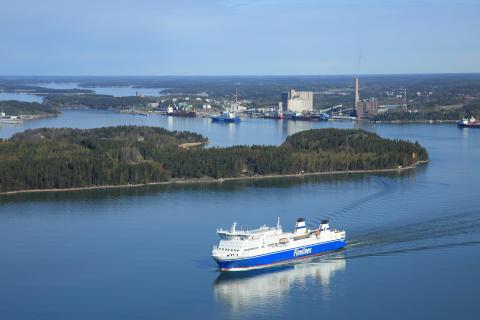 Naantalin sataman kokonaisliikenne 6,6 miljoonaa tonnia vuonna 2017