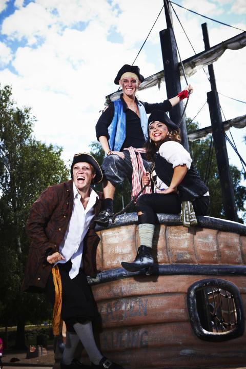 Daftö Resorts pirater intar Göteborg