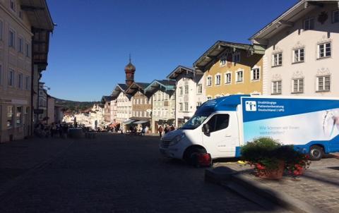 Beratungsmobil der Unabhängigen Patientenberatung kommt am 29. März nach Bad Tölz.