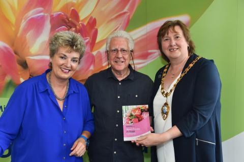 Flower Power at Flower Show in Larne Market Yard