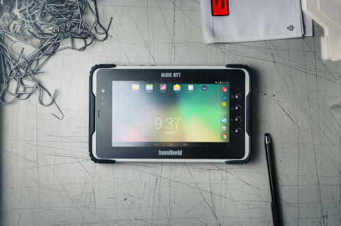 ALGIZ RT7, en stryktålig Android-tablet
