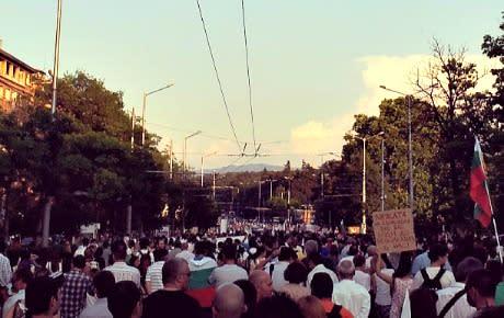 Bulgarien existerar! Största gatuprotesterna sedan 1997