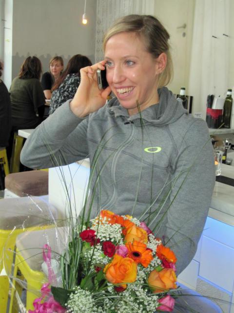 Lisa Nordén i telefoninterjvu efter bragdguldsbeskedet