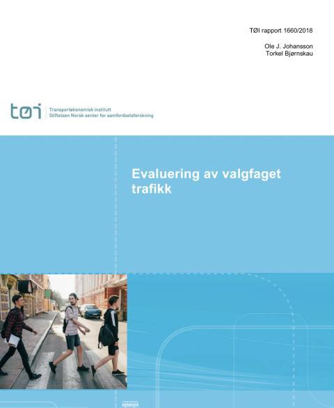 Evaluering av valgfag trafikk