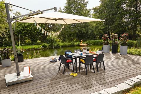 Bringen echtes Wohngefühl nach draußen: die Design-Gartenmöbel von LECHUZA