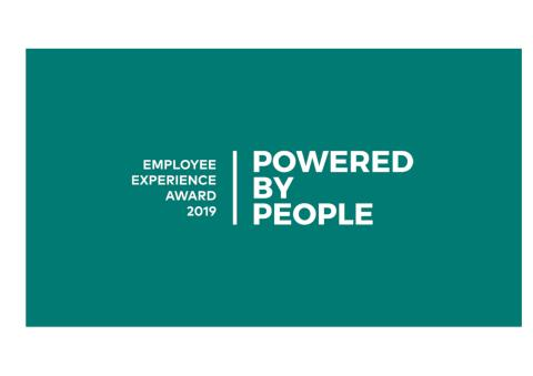 Pressunderlag vinnare Powered by People - Employee Experience Award 2019