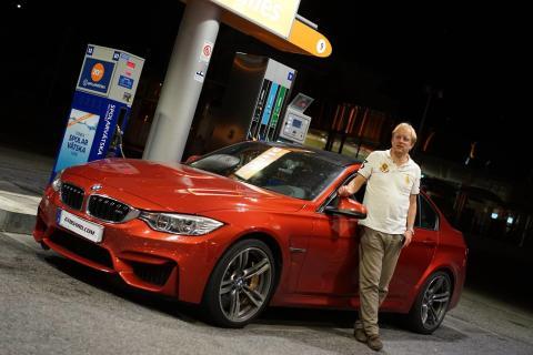 Statoil lanserar förbättrad bensin i samarbete med Gustav Träff