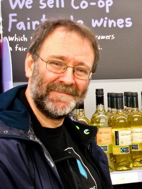 Bruce Crowther, grundare av världens första Fairtrade City