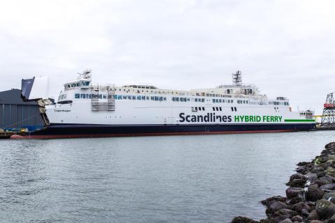 """Nye Scandlines færger - """"Copenhagen"""""""