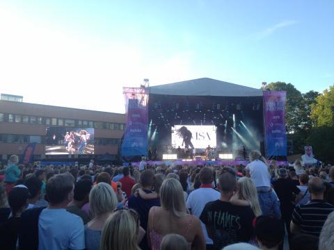 Över 300 000 besökare på Linköpings Stadsfest!