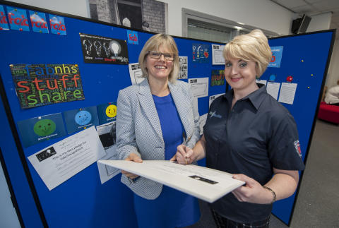 Health minister talks to Northumbria students