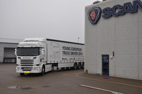 "Scania ""Young European Truck Driver"" chaufførkonkurrence"