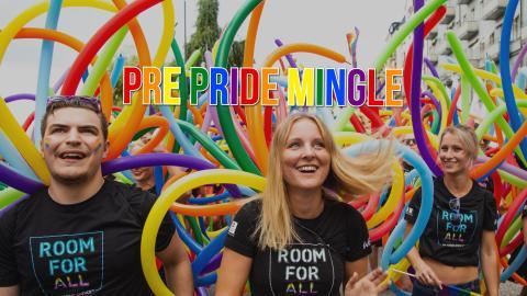Pre Pride Mingle at Rooftop Garden Bar
