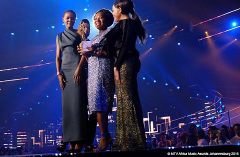 Barnäktenskapsaktivist vann utmärkelse på MTV-gala