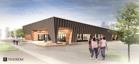 Pressinbjudan: Välkommen på spadtag för Kronoparkens nya kultur- och fritidshus
