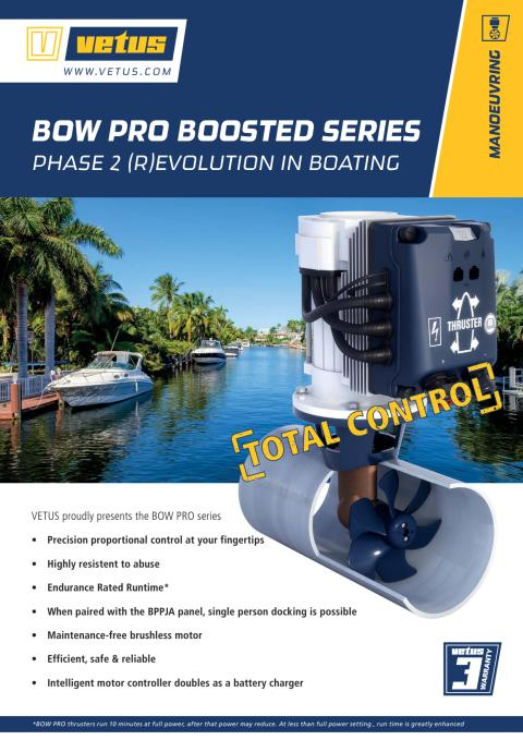 BOW PRO Boosted leaflet