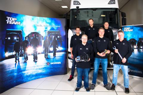 Scania Top Team aus München im Europafinale