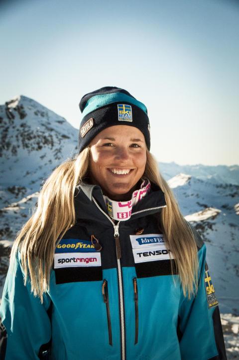 Världens bästa skicrossåkare Anna Holmlund kommer till Hemavan