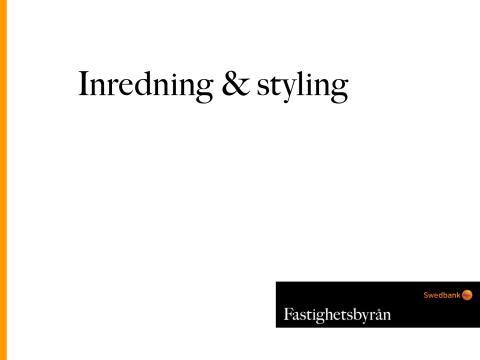 Undersökning: Svenskar om inredning och home styling
