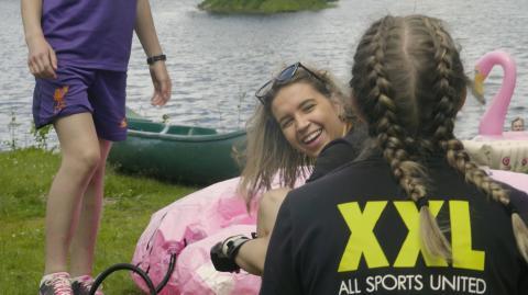 Suksess med sommerleir på Camp XXL