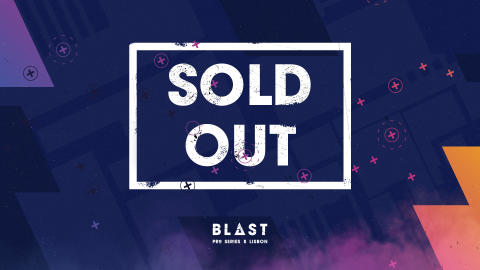 4th time straight: BLAST Pro Series Lisbon sold out!