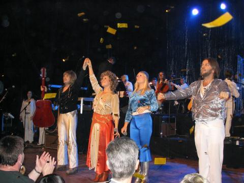 45 år med  ABBA. Jubileumskonsert på Malmö Arena onsdag 3 maj