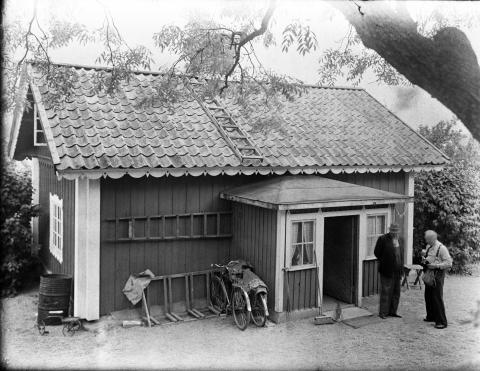 Bostadshuset vid Östberga gård, 1949.