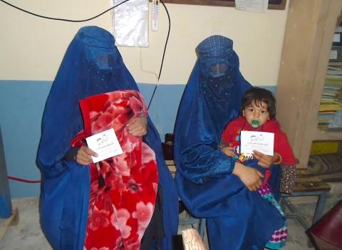 Shifo & Swedish Committee for Afghanistan are closing immunisation gaps together in Mehterlam District, Afghanistan - reduced workload for health workers