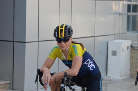 Sara Penton på VM i Doha